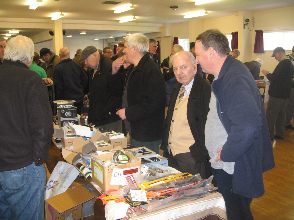 The well-lit 2nd hall had more space and a varied selection of components and bits as well as the HADARS stand.