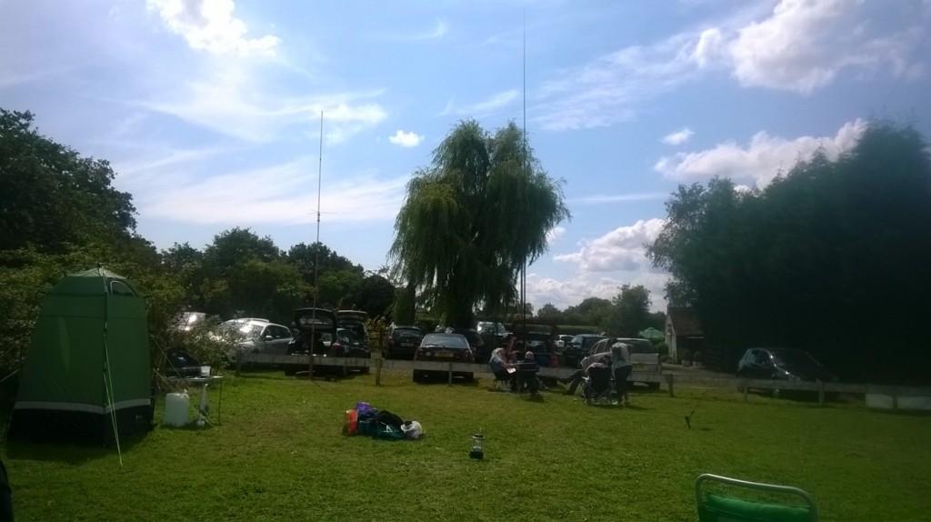 R& D Field Weekend site slightly earlier