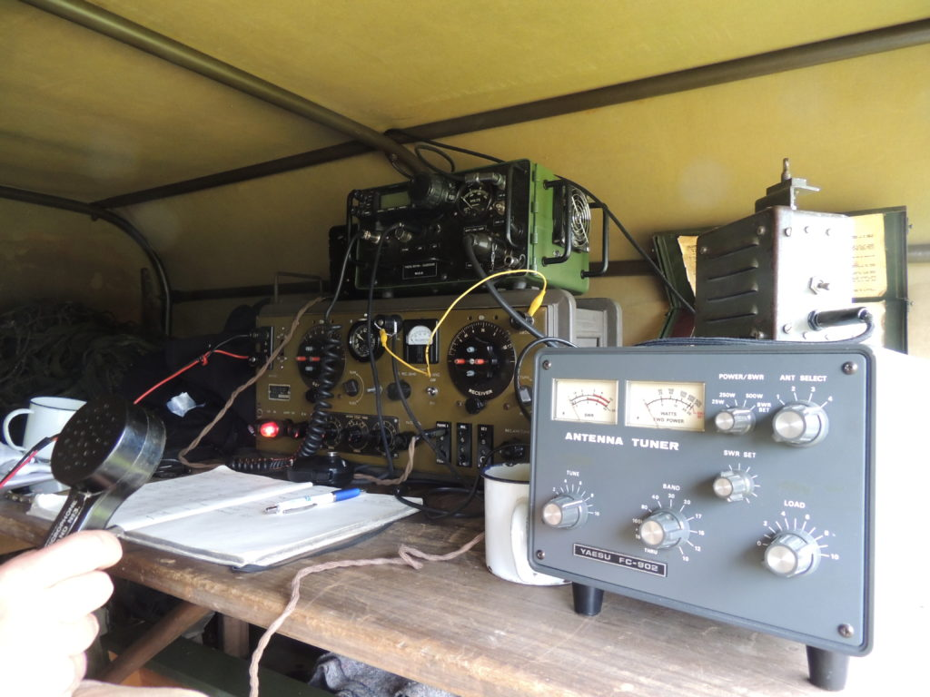 F/ M0IDF – Pegasus Bridge Portable Station – 75ème